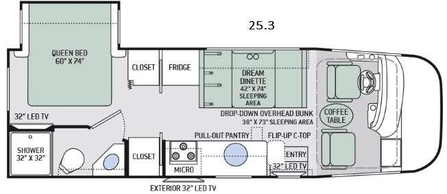 Axis 25.3 Floorplan Image