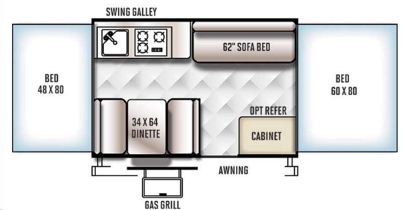 Flagstaff MACLTD Series 207 Floorplan Image