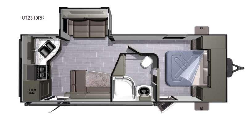 Open Range Ultra Lite UT2310RK Floorplan Image