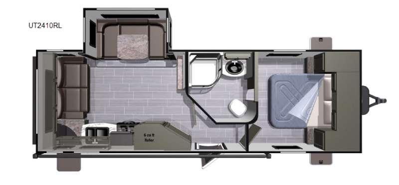 Open Range Ultra Lite UT2410RL Floorplan Image