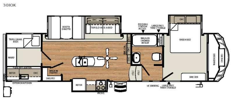 Sandpiper Select 30IOK Floorplan Image