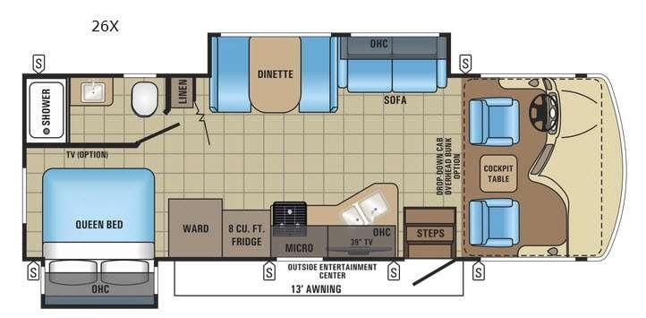 Alante 26X Floorplan Image