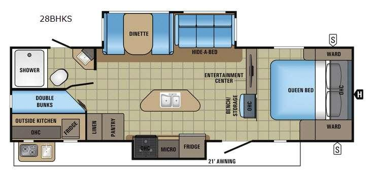 White Hawk 28BHKS Floorplan Image