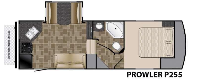 Prowler P255 Floorplan Image