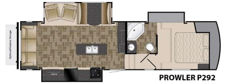 Prowler P292 Floorplan Image