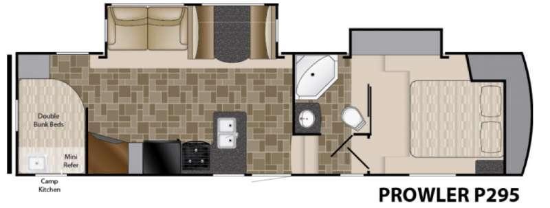 Prowler P295 Floorplan Image