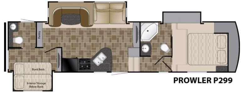 Prowler P299 Floorplan Image