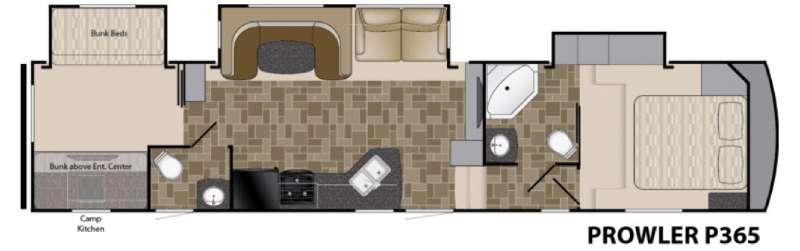 Prowler P365 Floorplan Image