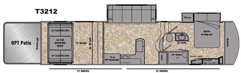 Tesla 3212 Floorplan Image