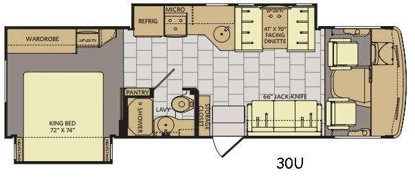 Flair 30U Floorplan Image