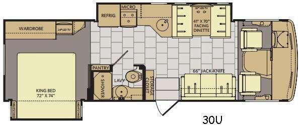 Flair 30U Floorplan Image