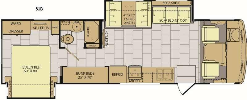 Flair 31B Floorplan Image