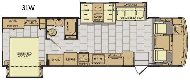 Flair 31W Floorplan Image