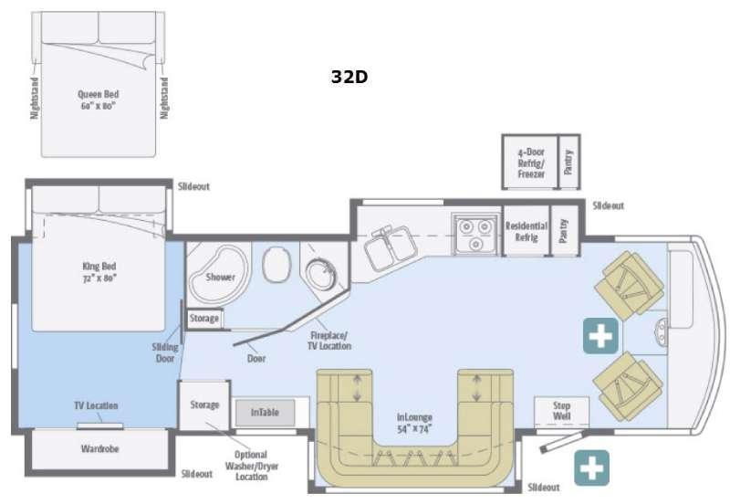 Adventurer 32D Floorplan Image