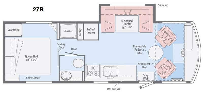 Brave 27B Floorplan Image