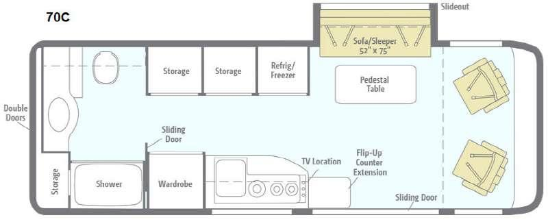 Era 70C Floorplan Image