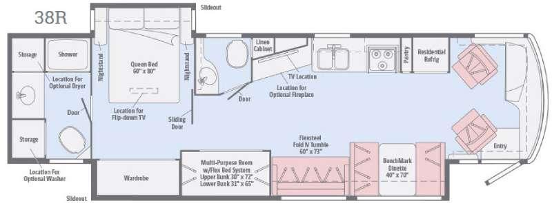 Forza 38R Floorplan Image
