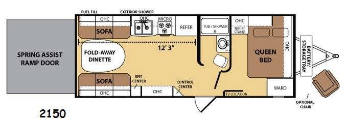 Razorback 2150 Floorplan Image