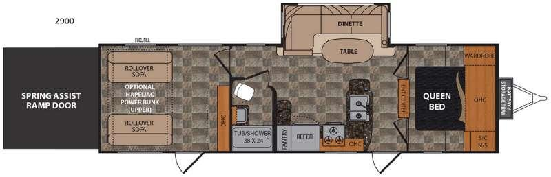 Rubicon 2900 Floorplan Image