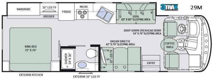 Hurricane 29M Floorplan Image