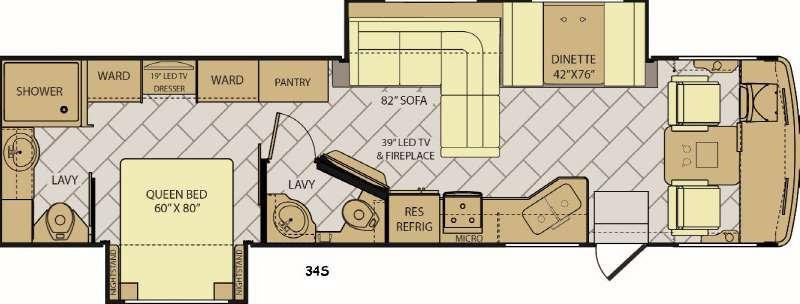 Storm 34S Floorplan Image