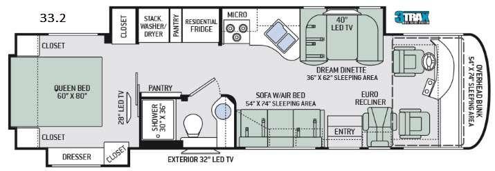 Palazzo 33.2 Floorplan Image