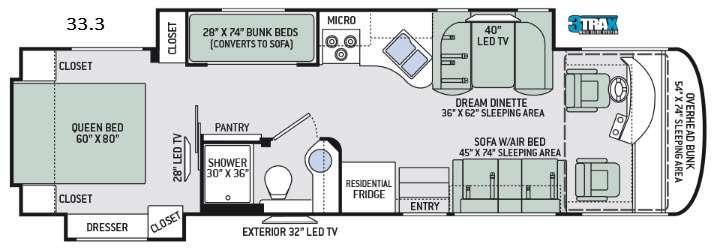 Palazzo 33.3 Floorplan Image