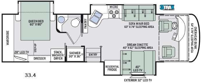 Palazzo 33.4 Floorplan Image