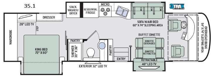 Palazzo 35.1 Floorplan Image