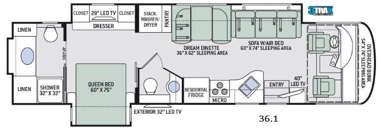Palazzo 36.1 Floorplan Image
