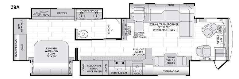 American Revolution 39A Floorplan Image