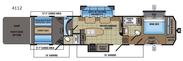 Seismic 4112 Floorplan Image