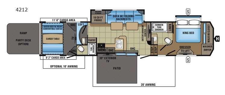 Seismic 4212 Floorplan Image