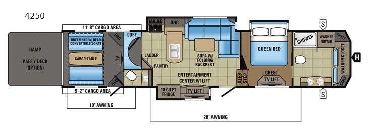 Seismic 4250 Floorplan Image