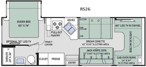 Quantum RS26 Floorplan Image