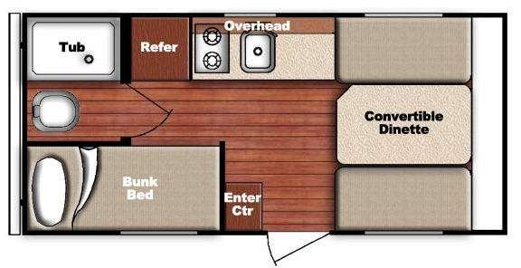 Kingsport Lite 16BHC Floorplan Image