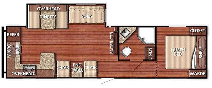 Kingsport 29SBSE SE Series Floorplan Image