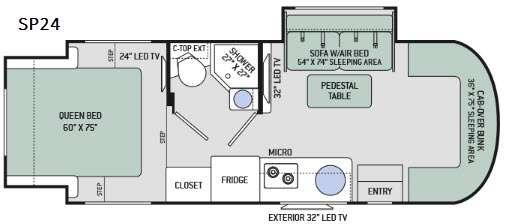 Synergy SP24 Floorplan Image