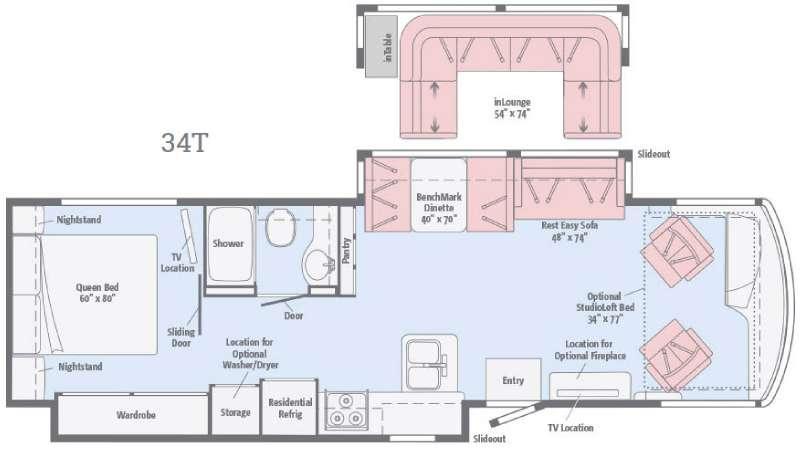 Solei 34T Floorplan Image