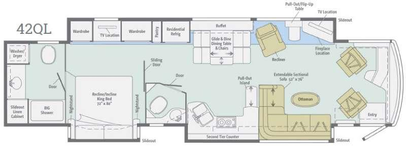 Ellipse Ultra 42QL Floorplan Image