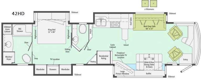 Ellipse 42HD Floorplan Image