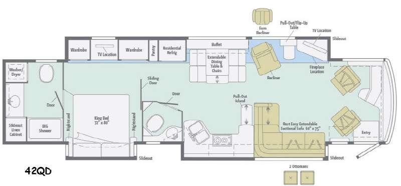 Ellipse 42QD Floorplan Image
