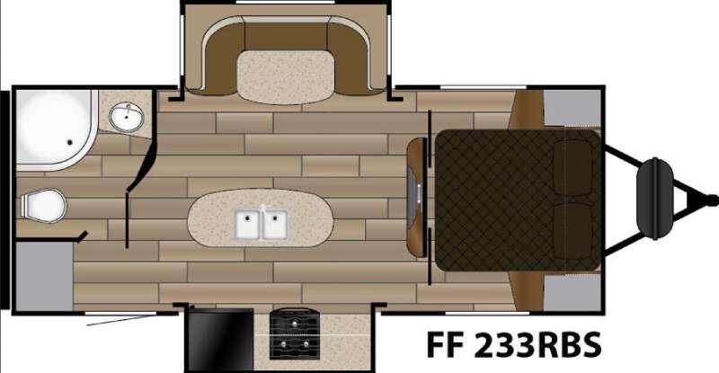 Fun Finder XTREME LITE F-233RBS Floorplan Image