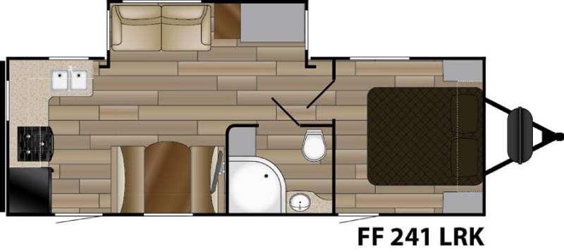 Fun Finder XTREME LITE F-241LRK Floorplan Image