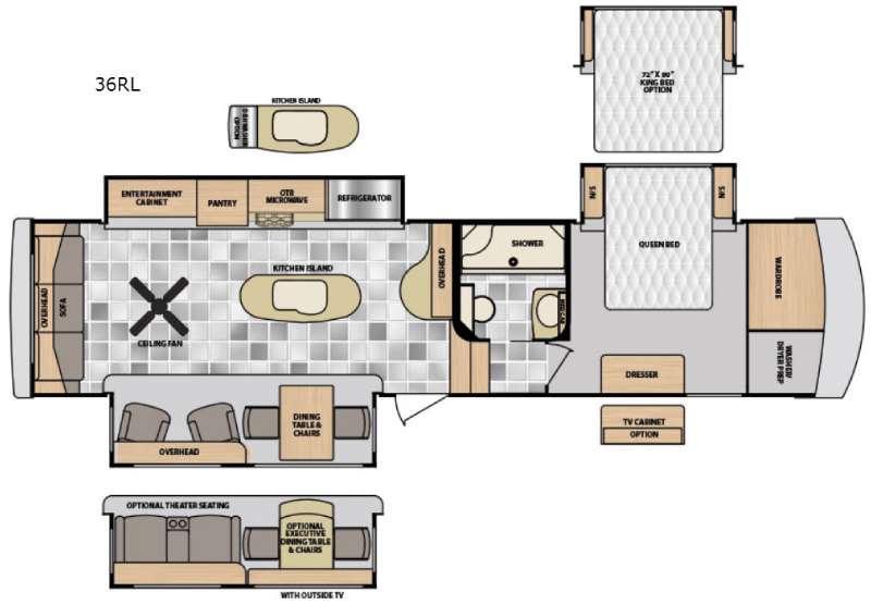 Destination 36RL Floorplan Image
