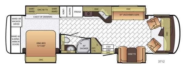 Canyon Star 3712 Floorplan Image