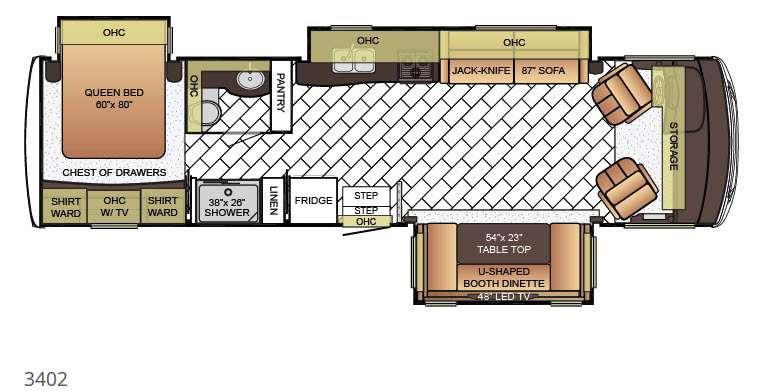 Bay Star 3402 Floorplan Image