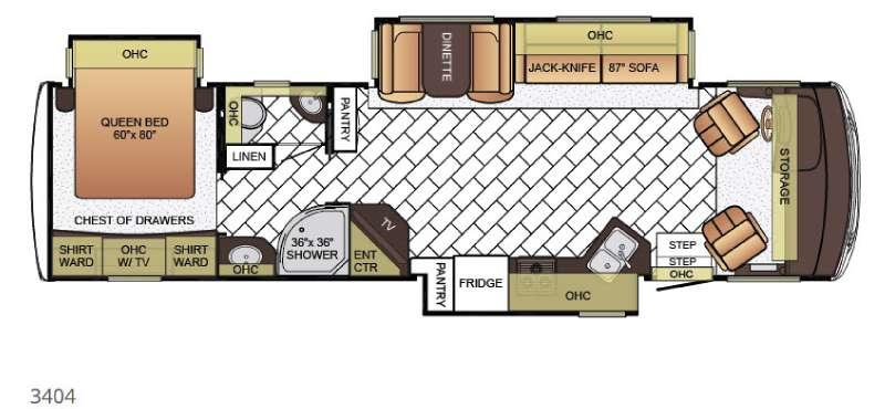 Bay Star 3404 Floorplan Image