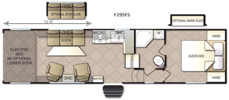 Powerlite F295FS Floorplan Image