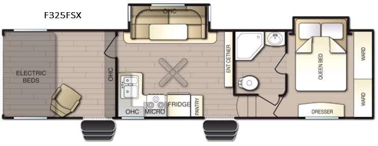 Powerlite F325FSX Floorplan Image